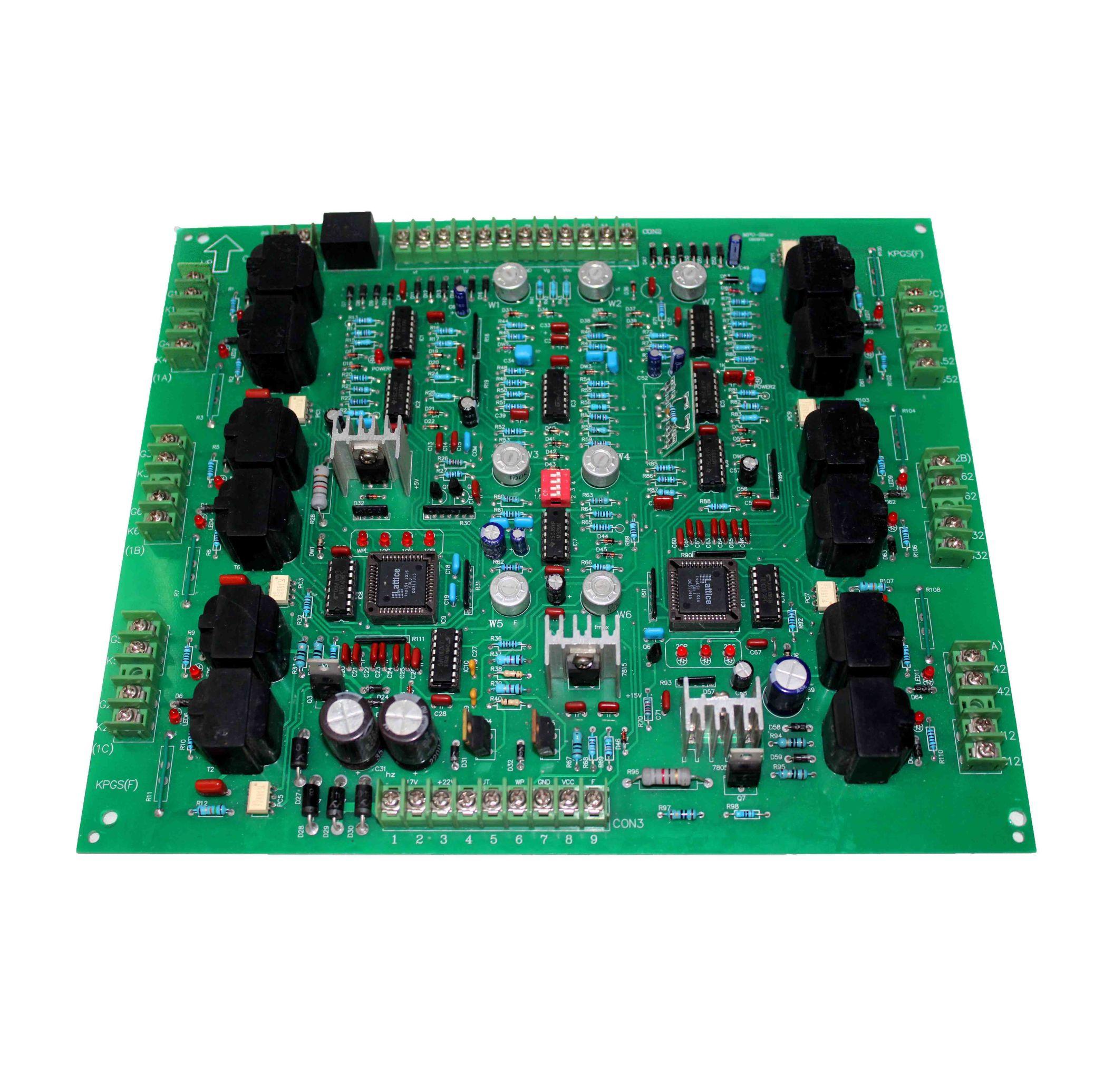 برد کنترل تریستور | MPU-3 NEW | برد کنترل کننده کوره های القایی 6 فاز